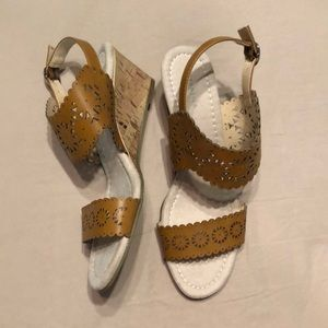 Attention Wedge Sandals 8.5M